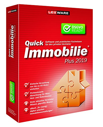 Lexware QuickImmobilie Plus 2019